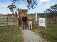 Richard LeBlanc, Director of Woodwynn Farms, Dr. Saul Arbess, Founder, Candian Peace Initiative
