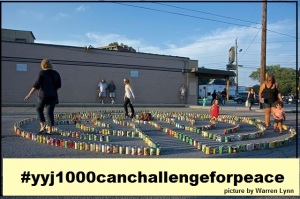 #yyj1000canchallengeforpeace